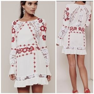 FOR LOVE AND LEMONS Cecelia mini dress